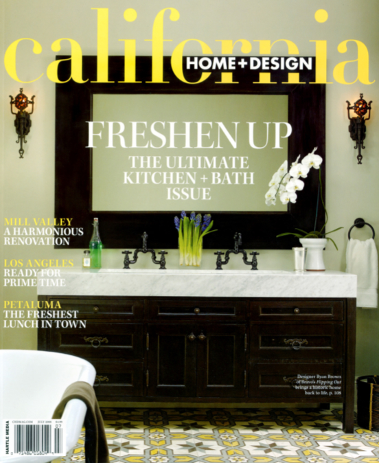 California Home and Design July 2008