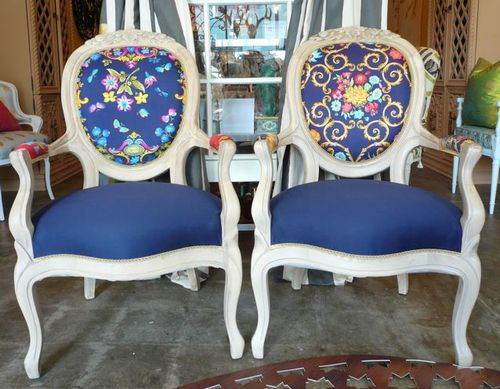 Suzan Fellman Vintage Chairs