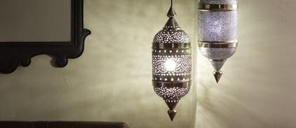 Anthropologie Lanterns