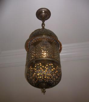 Vintage Moraccan Lamp