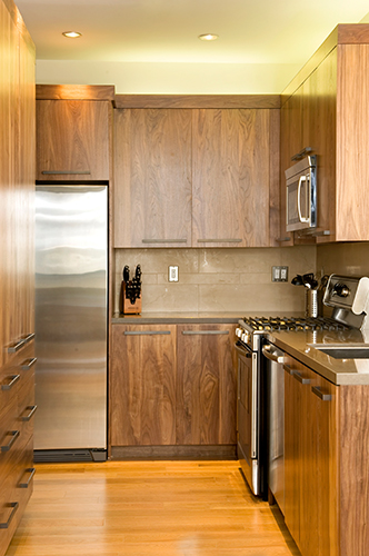 Brown Design Development Maximizing A Small Kitchen